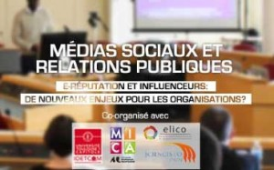 Webinaire international franco-québécois de l'Observatoire des médias sociaux en relations publiques