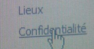 Confidentialité Web