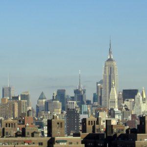 Paysage de New-York